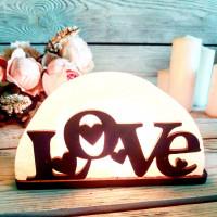 Соляная лампа Любовь 1,5 кг