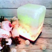 Соляная лампа Прямоугольник 4-5 кг