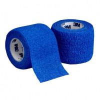 Бинт эластичный Coban 3M 7,5*4,6м синий