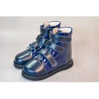 Ботинки антиварусные зимние синие 920