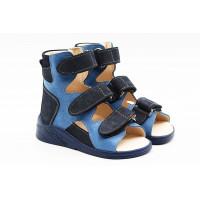 Босоножки ортопедические Ortofoot OrtoActive Premium Blue ocean  для мальчика