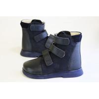 Ботинки ортопедические для мальчика осенние 720 OrtoCross Ortofoot Синий