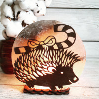 Соляная лампа Ежик 4 кг