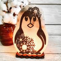 Соляная лампа Пингвин 3- 4 кг