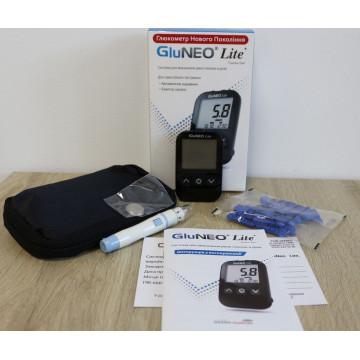 Глюкометр модель GluNeo Lite Infopia