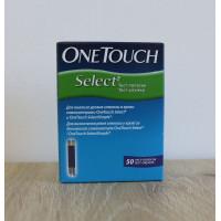 Тест-полоски OneTouch Select  50 штук