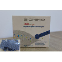Ланцеты GL300 Rightest Bionime 200 штук