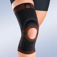 Ортез на коленный сустав 9105-8105 Orliman гибкий с силиконовой подушечкой