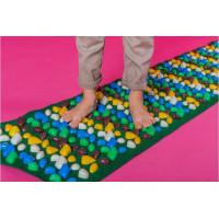 Коврик-дорожка массажный с цветными камнями 200x40 см детский развивающий