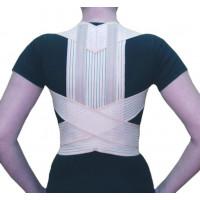 Ортез на грудной отдел позвоночника с рёбрами жесткости и широкой спинкой ОХ.11 Норма-Трейд