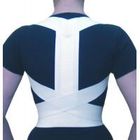 ОХ.10 Норма-Трейд Ортез на грудной отдел позвоночника с рёбрами жесткости и узкой спинкой (Корректор осанки)