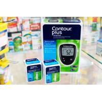 Тест-полоски Contour plus 50 шт*2 глюкометр в подарок