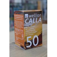 Тест-полоски Calla Light Wellion 50 штук
