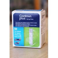 Тест-полоски Contour Plus 50 штук