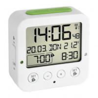 "Будильник цифровой 60252802 ""Bingo"" TFA белый с термометром"
