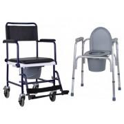 Кресло-каталки и стулья-туалеты