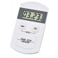 Таймер цифровой 38200502 TFA бело-серый с секундомером