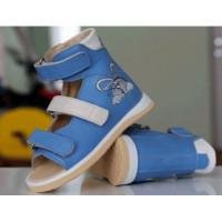 Детские ортопедические босоножки с супинатором под всю стопу Ortofoot 125