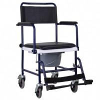 Кресло-каталка MOD-JBS367A OSD с санитарным оснащением