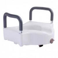 Туалетное сиденье RPM-67034 OSD с фиксатором и съемными поручнями